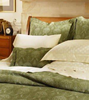 New Sferra Ascot Matelasse Pillow Sham-Moss-Standard