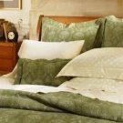 New Sferra Ascot Matelasse Pillow Sham-Moss-Boudoir