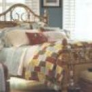 1 Pair New Tommy Bahama Ikat Pillow Shams-Standard-Cascade