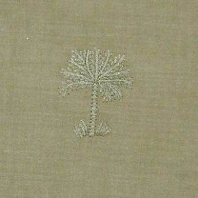 Tommy Bahama Aloha Palm Flat Sheet-Full/Queen-Sea Grass