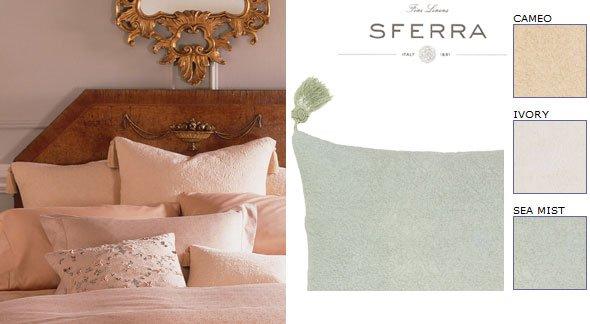 New  Sferra Grammacy Silk Boudoir Sham/Tassels-Boudoir
