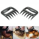 2pcs Grizzly Bear Paws Claws Meat Handler Fork Tongs Pull Shred Pork BBQ Barbecue Tool Gift