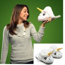 34-42 Yards Unisex Indoor Plush Unicorn Slippers Cosplay Costumes Toy Gift Shoes