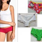 3 Pcs/lot women's sexy Cotton underwear briefs panties comfortable wear clothes Free shipping