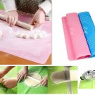 50*40cm Dough Rolling Baking Mat Cutting Fondant Pastry Cake DIY pizza Kitchen Tools gift
