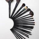 24pcs (Black) Cosmetics Makeup Brushes Beauty MakeUp Tool Set Foundation Powder Brush Kit With bag