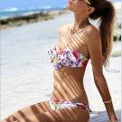 Women's Sexy floral Bikini set swimwear bathing suit low waist beachwear gift swimsuit