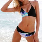 Womens Sexy floral Push up beachwear Swimsuit Bathing Suits Swimwear bikini set
