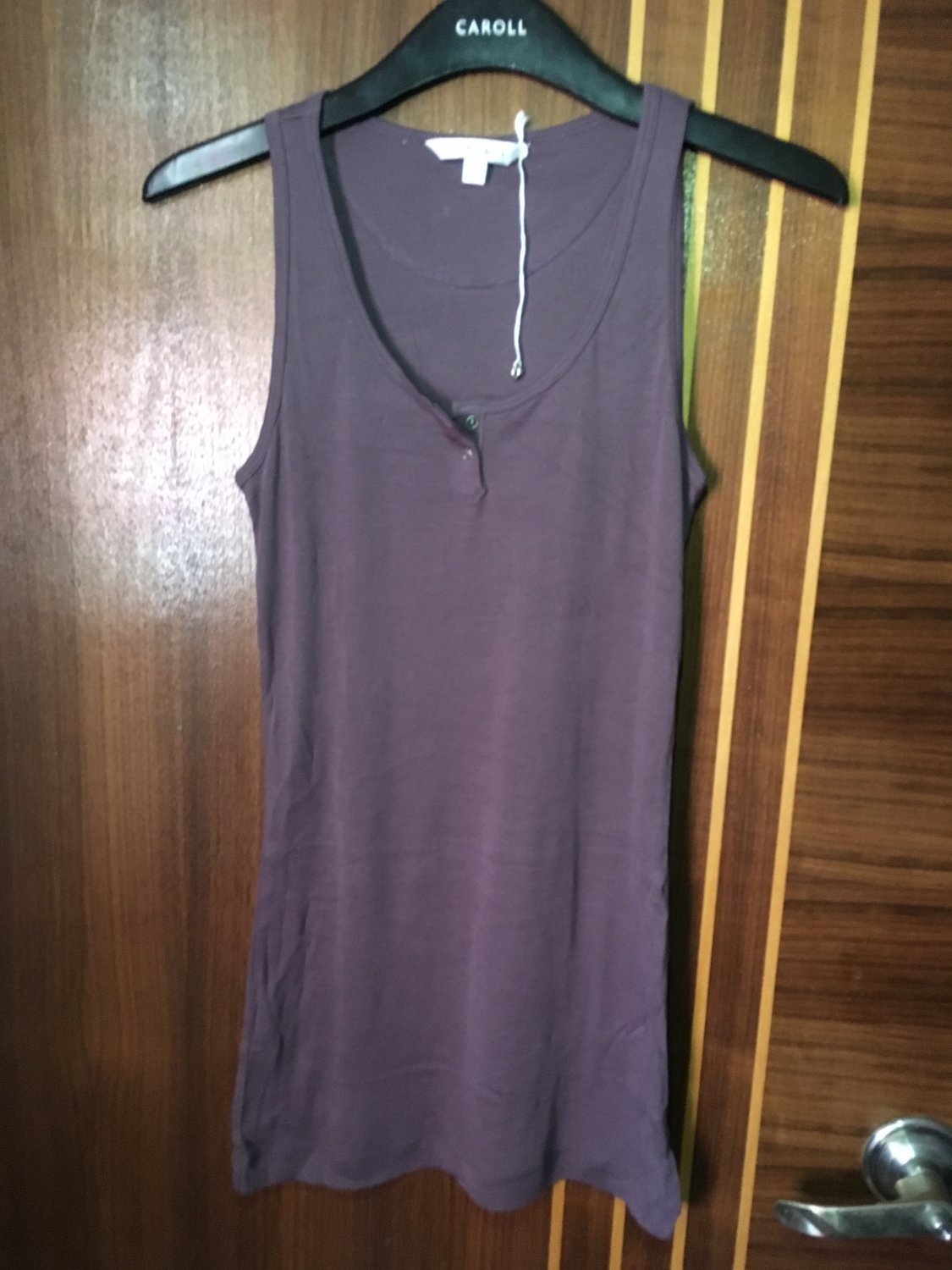 Women's fashion sexy purple cotton tops tanks sport wear accessories clothing gift