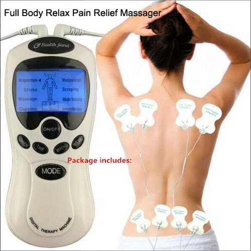 8 pads Electrical Body Relax Muscle Therapy Massager Pulse tens Acupuncture Slimming Machine