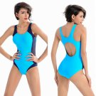 Women's sexy Sport Triangular one piece bikini beach swimwear plus size S M L XL 2XL