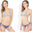 Women's sexy Stripe bikini set swimwear bathing suit S-XL Plus size beachwear