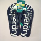 1P Men's casual super dry flip flops shoes beach wear Size L/US10-11.5/EU9.5-10.5