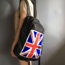 Men's women's Unisex mini cooper black folding travel sports backpack canvas bags car gift