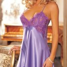 Women's sexy lace mixed slim sleepwear one-piece nightgown Deep-V Costumes suit S M L XL XXL