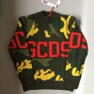 Unisex 100% Woolen gcdscamo print knitted  sweater Pullovers Free shipping