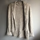 New women's fashion vintage gray knitted coat cardigans Sweaters clothing Size S M L