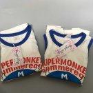 2pc/lot Unisex Kids children cotton sleeveless tops Size 130 worldwide free shipping
