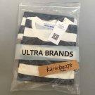 Unisex short sleeve tee striped casual T-shirt Free shipping Ultrabrandsoe5# Men Women clothing