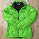 Women's casual salomon down jacket coat outwear green Free shipping