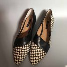Women's flat shoes rachelzoe leather black size 8M free shipping