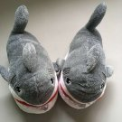 34-41 yards Unisex Cartoon sharks Home Slippers warmer Plush Shoes men women's Cosplay gift toys