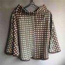 New Women's Fashion vintage Knitted dots skirts cotton dress plus size Size M