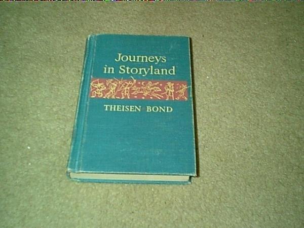 1953 Vintage Child's School Reader-Journeys in Storyland