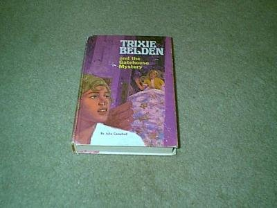 Trixie Belden & the Gatehouse Mystery-Purple Hardcover