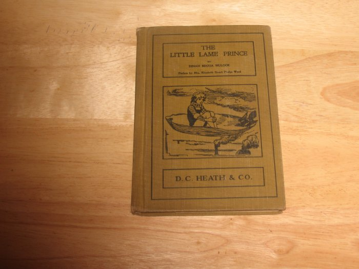 The Little Lame Prince-1901 Hardcover-By Dinah Maria Mulock