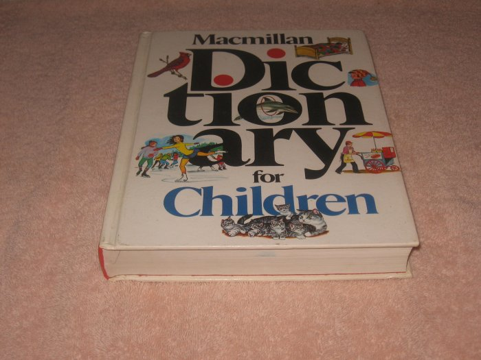 Macmillan Dictionary for Children-Very nice HC