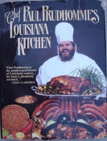 Chef Paul Prudhomme's LOUISIANA KITCHEN-HC/DJ