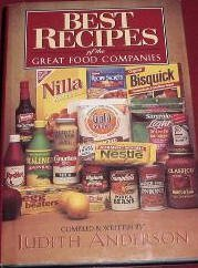 Best Recipes of the Great Food Companies-Hardcover with Dustjacket