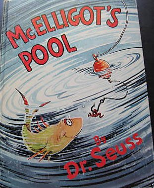 McElligot's Pool By Dr. Seuss-Hard To Find Vintage Book