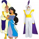 Aladdin Lamp prince Costume cosplay prince costume for adult