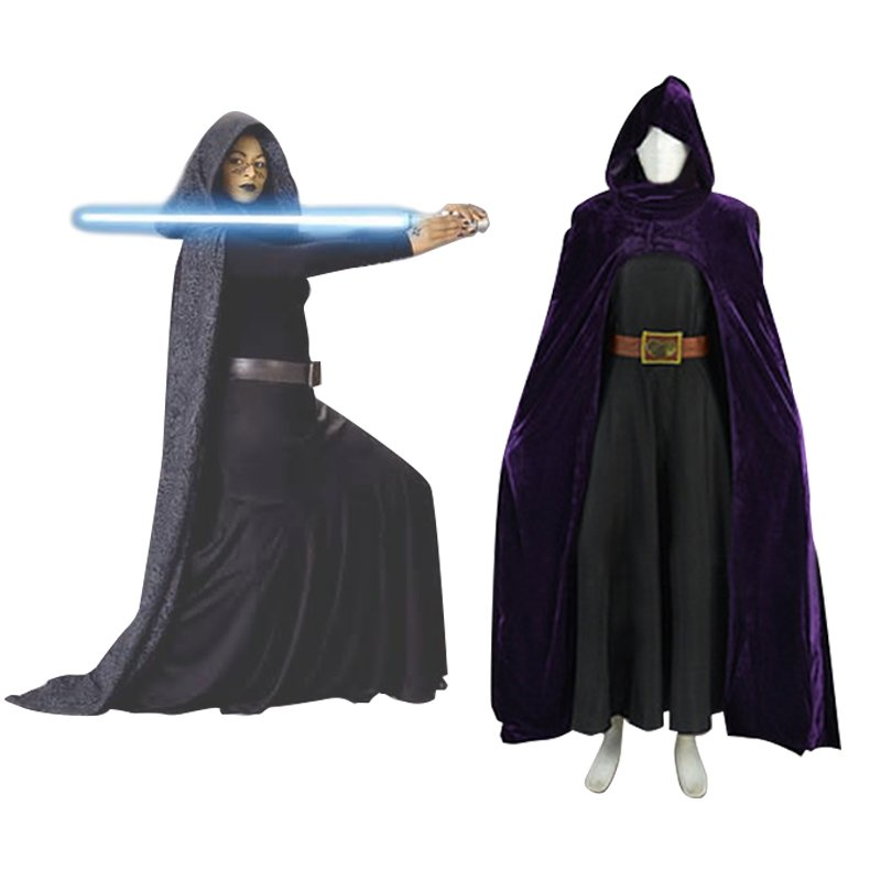 Barriss Cosplay Costume from Star Wars Custom Made