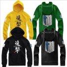 Shingeki No Kyojin Attack on Titan Hoodie Cotton Sweatshirts