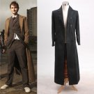 Who is Doctor Dr. Long Trench Black Coat Movie Cosplay Costume