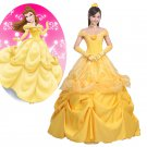Disney Beauty and the Beast Belle Cosplay Dress