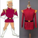Sitcom Futurama Captain Zapp Brannigan Red Uniform