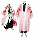 Custom Made Bleach 8th Division Captain Kyouraku Shunsui Cosplay Costume
