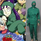 Nintama Rantaro Shinbei Ninja Costume Japanese Anime Cartoon Outfit