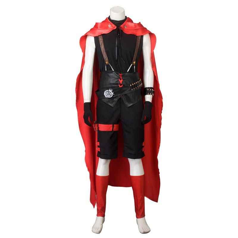 RWBY Red Trailer Ruby Rose Cosplay Costume Man