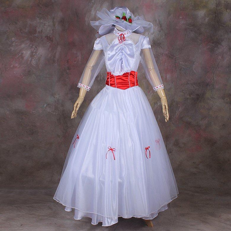 Custom made Mary Poppins Costume Movie Cosplay Costume