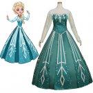 Custom Made Princess Elsa Fancy Dress Women Dress