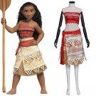 2016 Moana Waialiki Princess Moana Dress Custom Made
