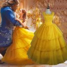 2017 Movie Beauty and The Beast Princess Belle cosplay costume
