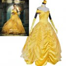 Beauty and The Beast Belle dress Halloween costume adult women