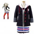 P5 Persona 5 Anne Takamaki Game Costume Cosplay jacket vest tshirt skirt