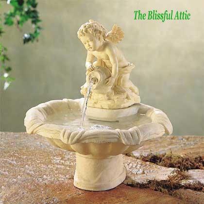 Cherub Water Fountain